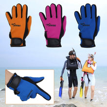 Snorkeling Diving Gloves Neoprene Swimming Equipment Anti-scratch Wetsuit Adjustable with Wrist Band Flexible Full Finger Gloves