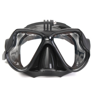 2018 NEW  Arrival Camera Mount Diving Mask Oceanic Scuba Snorkel Swimming Goggles Glasses F/ For GoPro