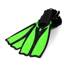 Cheap Diving Fins for Adults Professional Snorkeling Swimming Fins Long Flexible Flippers Submersible Shoe Professional Diver