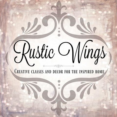 Rustic Wings Decor