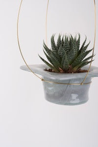 Flying Plant Pot - Grey