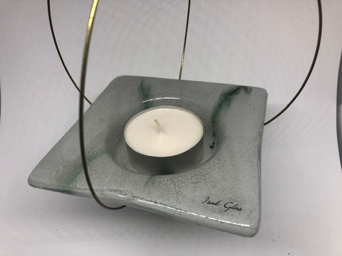 Flying candle holder, Desert Grey