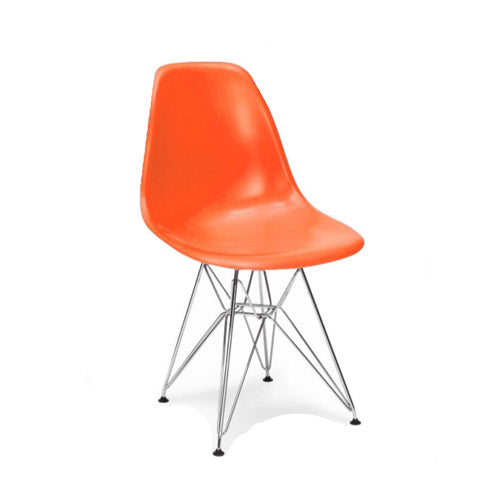 Eames DSR chair oranje - Charles & Ray Eames chairs