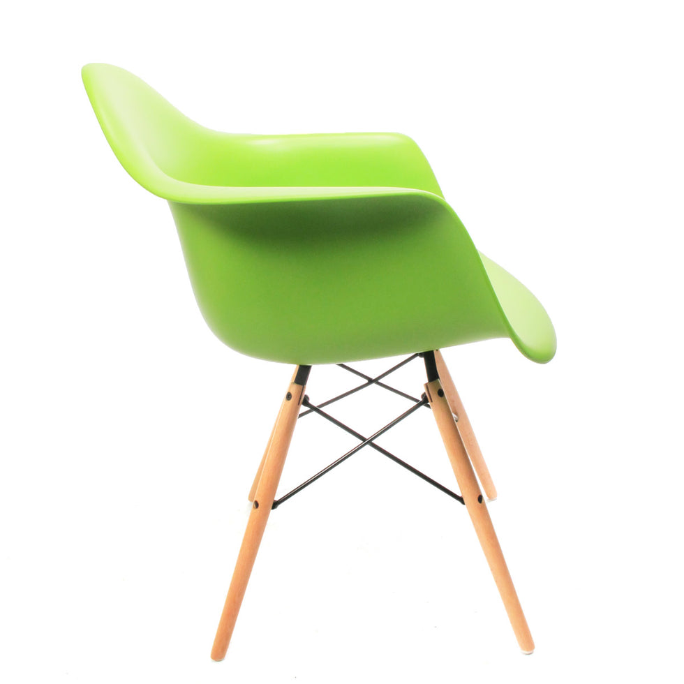 Eames DAW chair groen - Charles & Ray Eames chairs