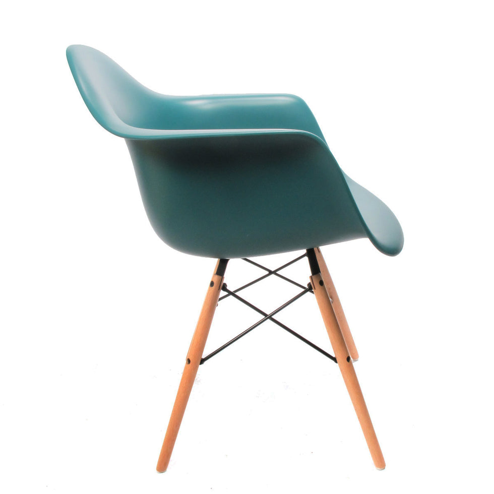 Eames DAW chair Ocean Blue - Charles & Ray Eames chairs