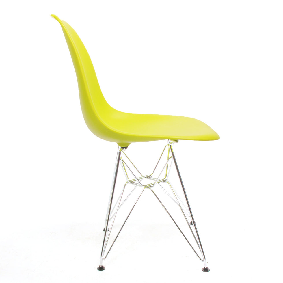 Eames DSR chair geel lime - Charles & Ray Eames