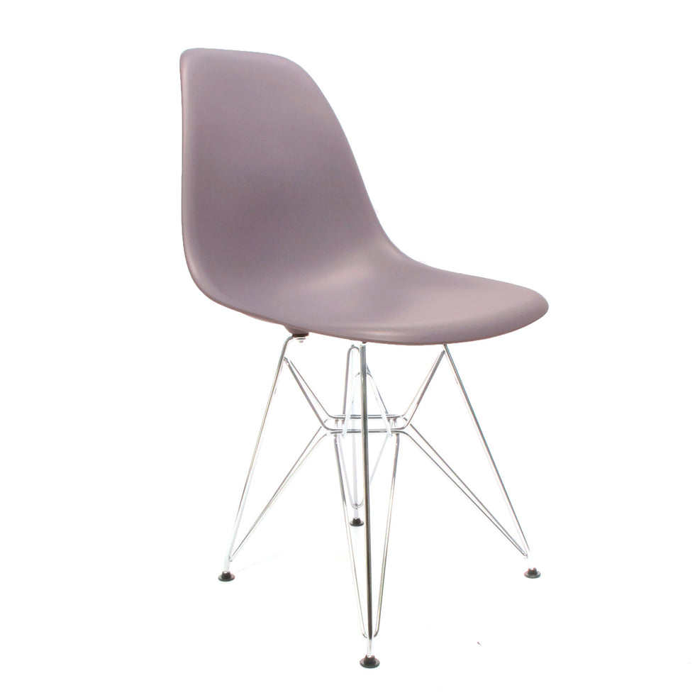 Eames DSR chair mauve grijs - Charles & Ray Eames chairs
