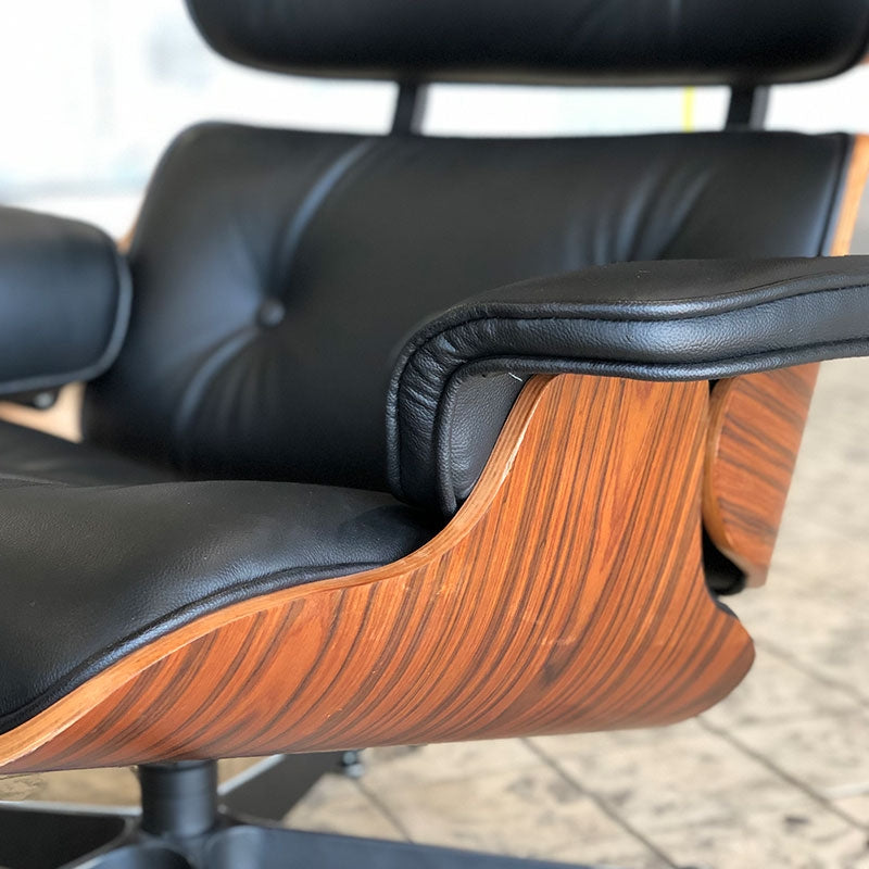 Eames Lounge chair zwart - Charles & Ray Eames