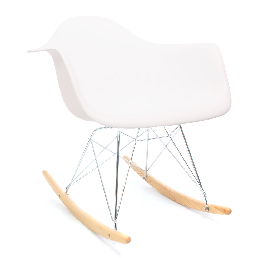 Eames RAR schommelstoel wit - RAR Rocking chair - Charles & Ray Eames