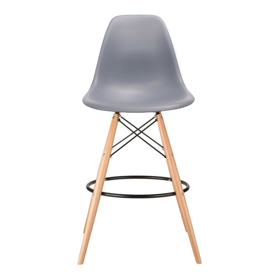 Eames DSW barkruk grijs - Ray & Charles Eames chairs