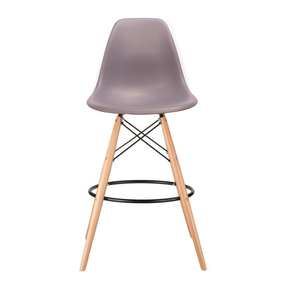 Eames DSW barkruk mauve - Ray & Charles Eames chairs