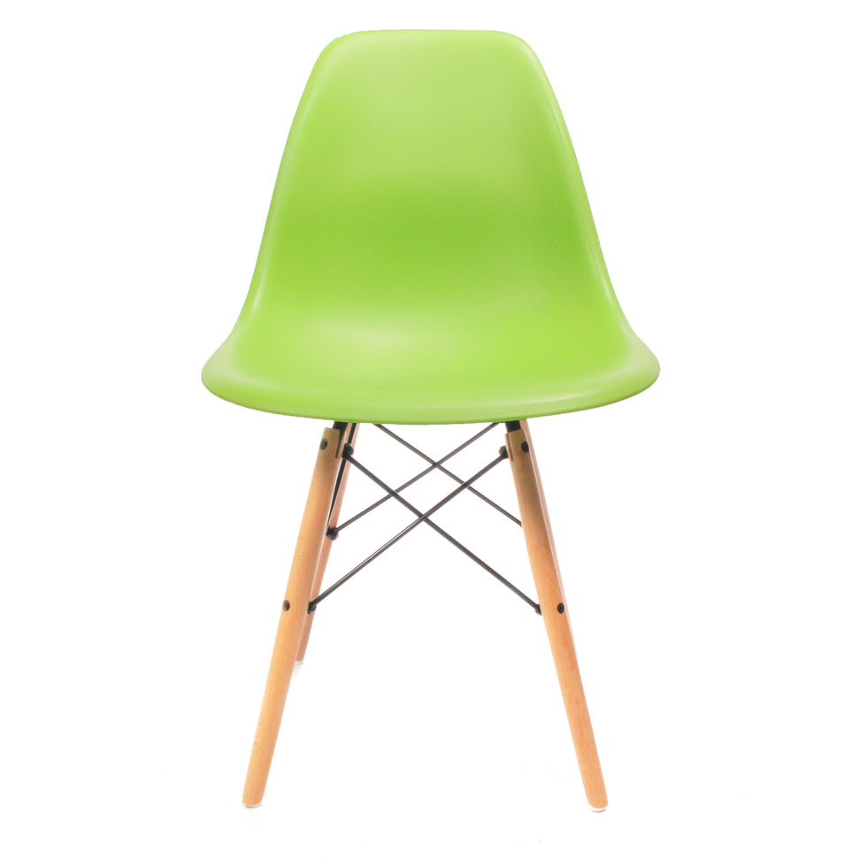 Eames DSW chair groen - Charles & Ray Eames