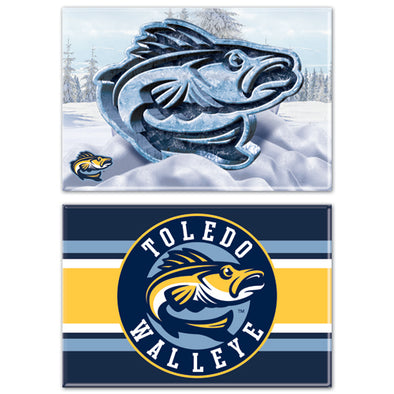 Walleye 2-Pack Magnets