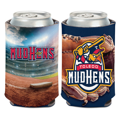 Toledo Mud Hens Ballglove Can Coozie
