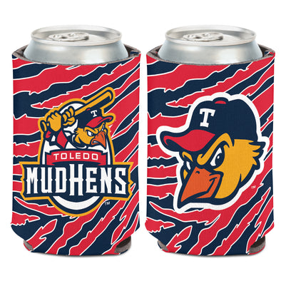Toledo Mud Hens Zubaz Can Coozie