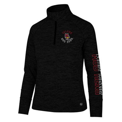 Toledo Mud Hens Ladies Impact 1/4 Zip