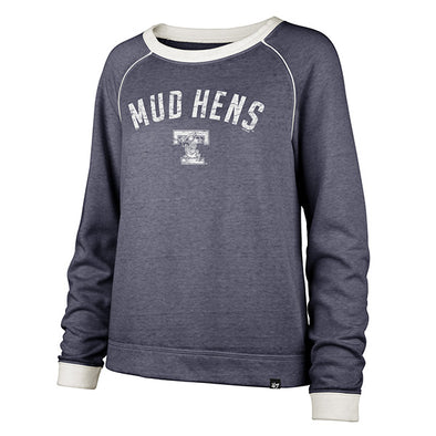 Toledo Mud Hens Ladies Fade Out Boyfriend Crew