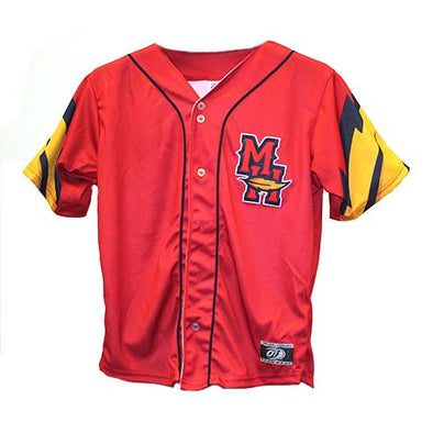 Mud Hens MH Feather Replica '17 Jersey