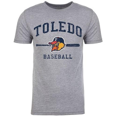 Toledo Mud Hens Arched Bat T