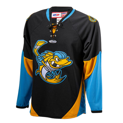 Black Walleye AK Replica Jersey