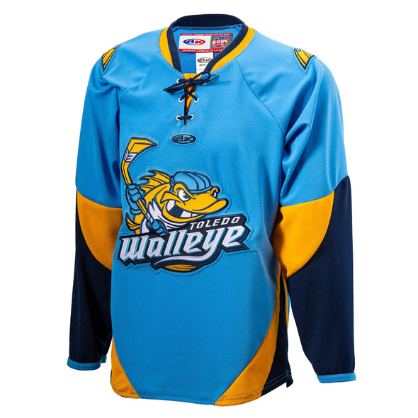 Blue Walleye AK Replica Jersey