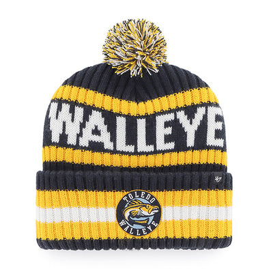 Toledo Walleye Navy Bering Cuff Knit Cap