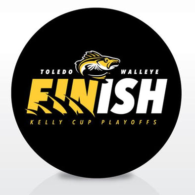 FINish Walleye Playoff Puck