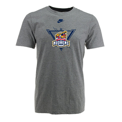 Toledo Mud Hens Heather Youth Nike Cotton T-shirt
