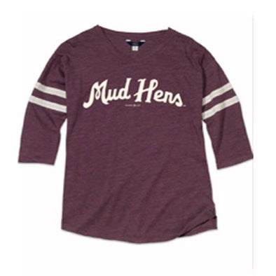 Ladies Maroon Hope Oversized T