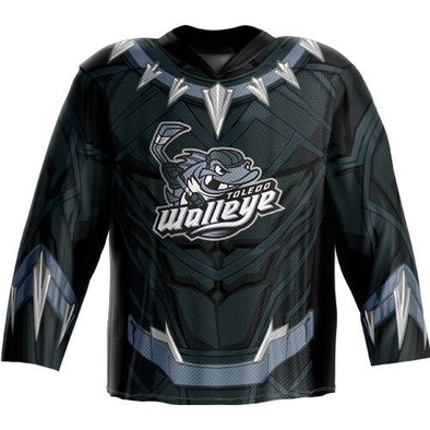 Black Panther Walleye Jersey