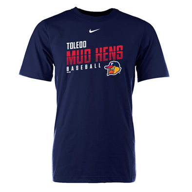 Toledo Mud Hens Navy Nike Cotton T-shirt
