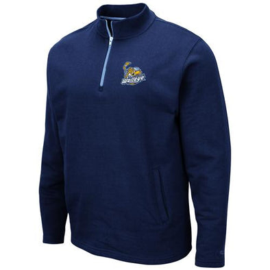 Walleye Navy Comic 1/4 Zip