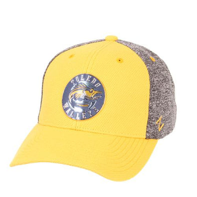 Walleye Retro Crest Insignia Stretch Fit Cap