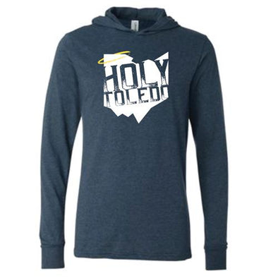 State Halo Holy Toledo Hooded Long Sleeve T