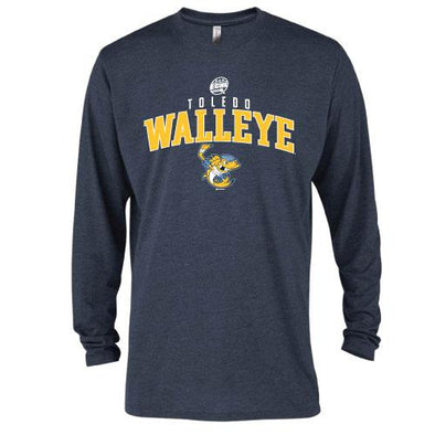 Acebase Walleye Tri-Blend Long Sleeve T