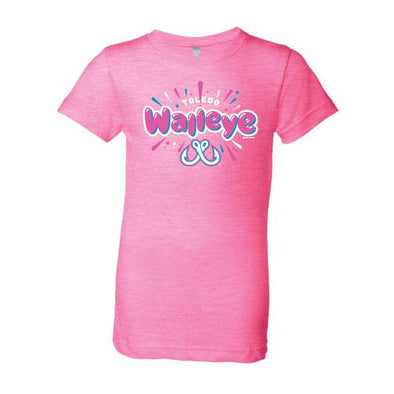 Blimp Youth Girls Walleye Neon Princess T