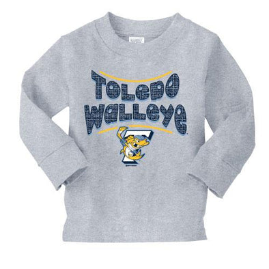 Flavor Walleye Toddler Long Sleeve T