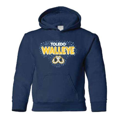 Marcia Youth Girls Walleye Hooded Sweatshirt