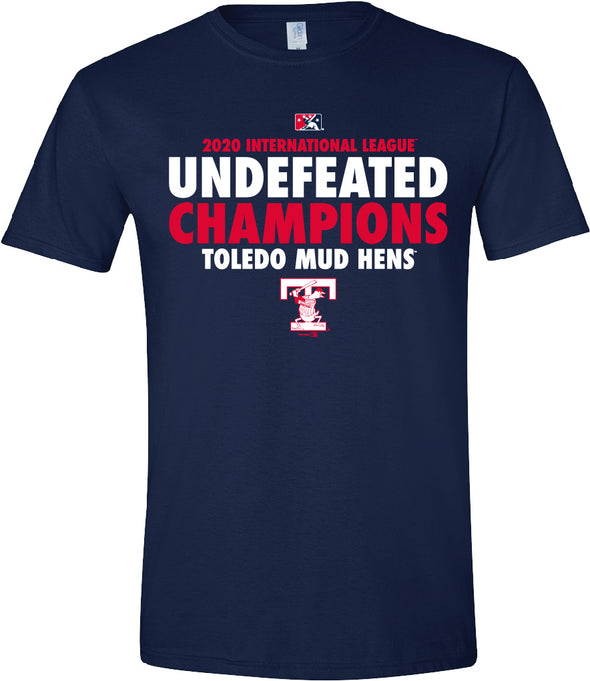 Toledo Mud Hens Undefeated 2020 Champs T-shirt