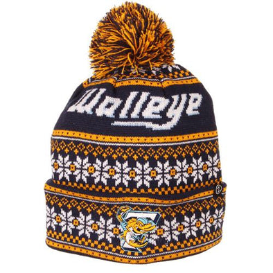 Blitzen Walleye Knit Cap