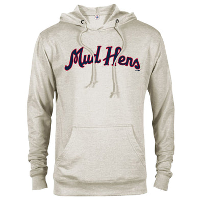 Toledo Mud Hens Classic Hens Script French Terry Hood