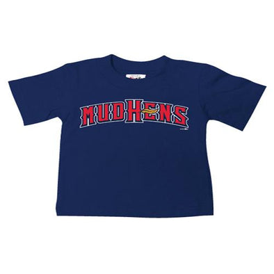 Toddler Navy Home Font T