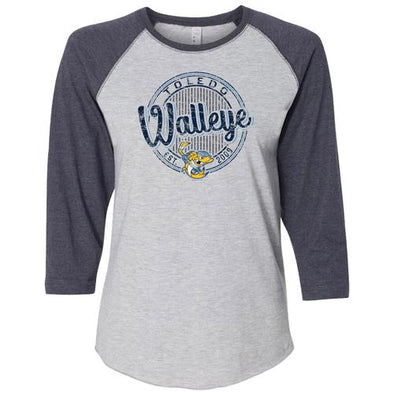 Dish Ladies Walleye 3/4 Sleeve Vintage T
