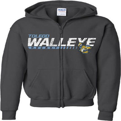 Fins Youth Walleye Zip Hood