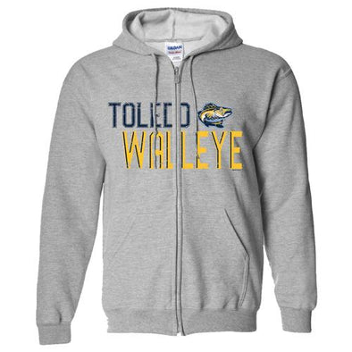 Park Walleye Full Zip Hooded Sweatshirt