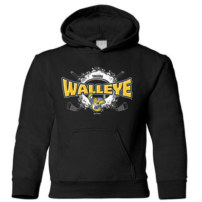 Slippery Youth Walleye Hooded Sweatshirt