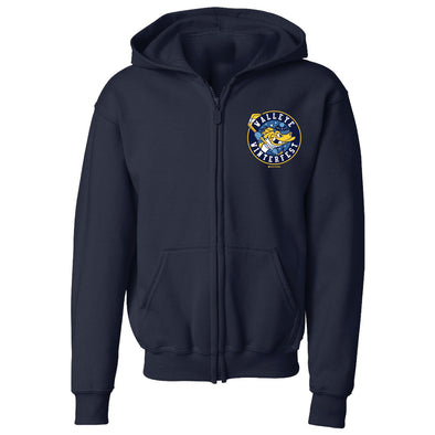 Toledo Walleye Youth Winterfest Crest Zip Hood