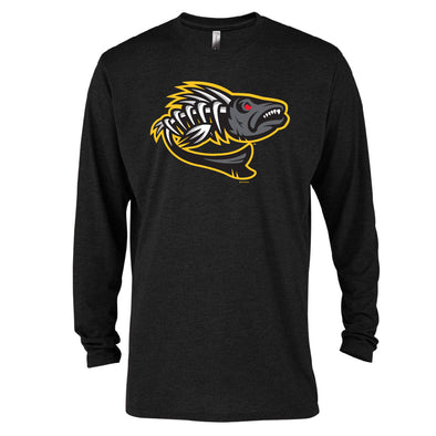 Toledo Walleye Zombie Fish Long Sleeve T-shirt