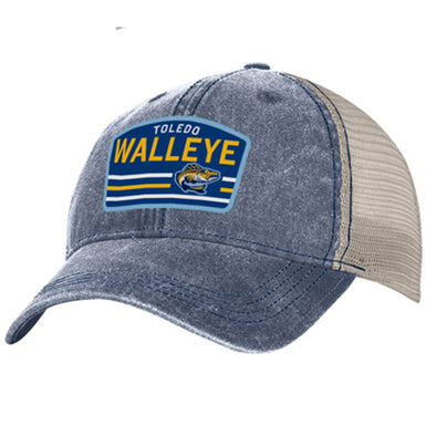Walleye Pigment Dyed Trucker Cap