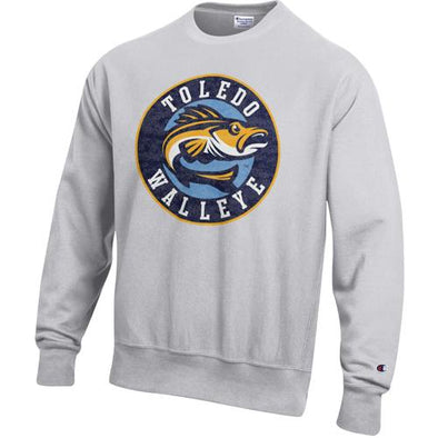 Reverse Weave Walleye Crewneck Sweatshirt